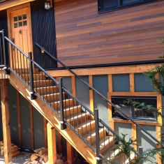 Fascia Mount Deck Railings - Century Aluminum Railings Ltd.