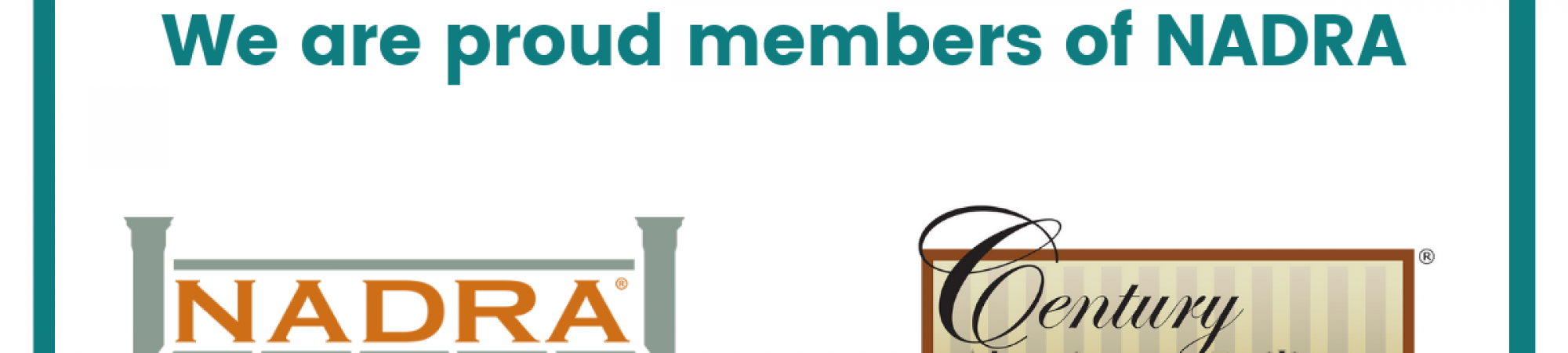 We are proud members of NADRA (North American Deck and Railing Association).