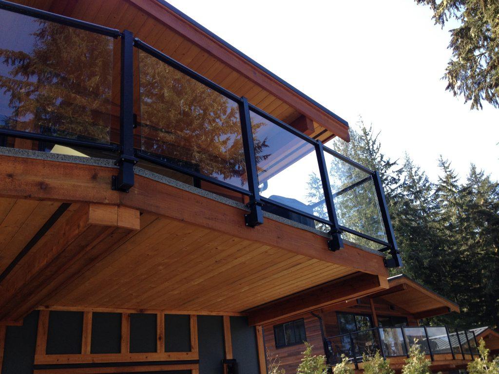 Fascia mount deck railing