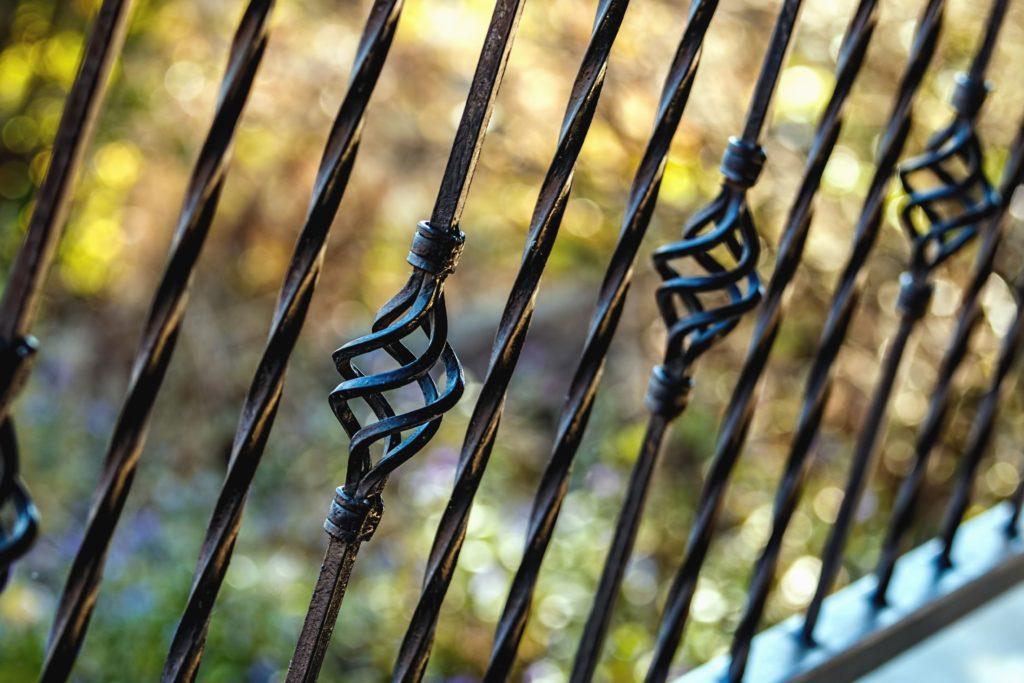 metal deck railing material